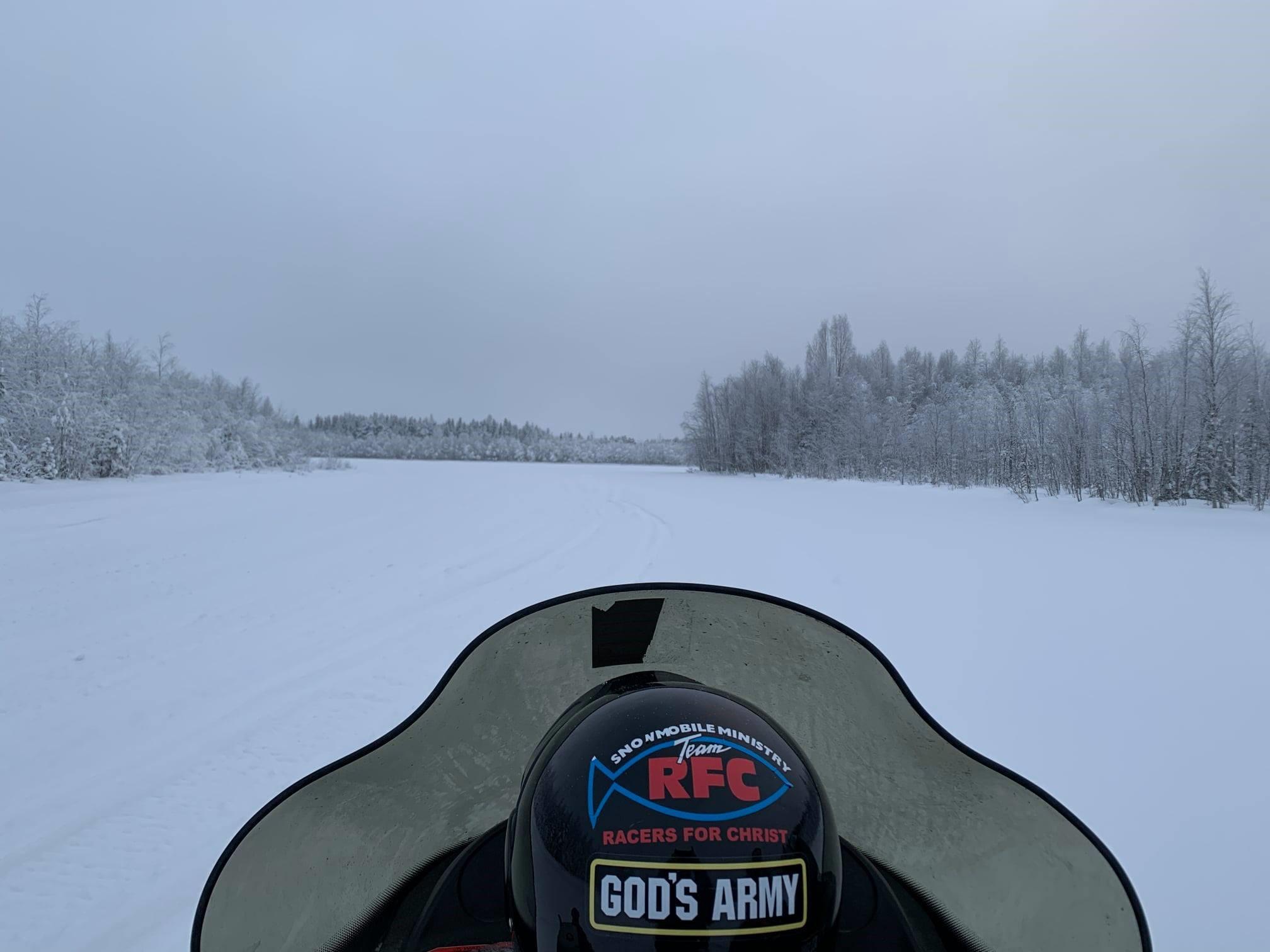 Team RFC snowmobile hat.