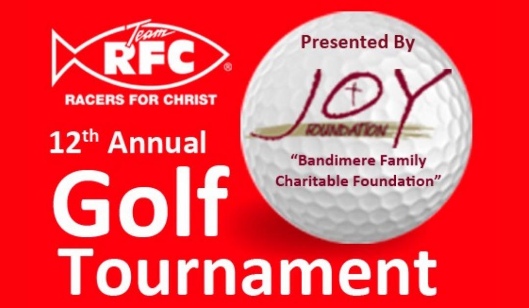 12th Annual Golf Tournament Update